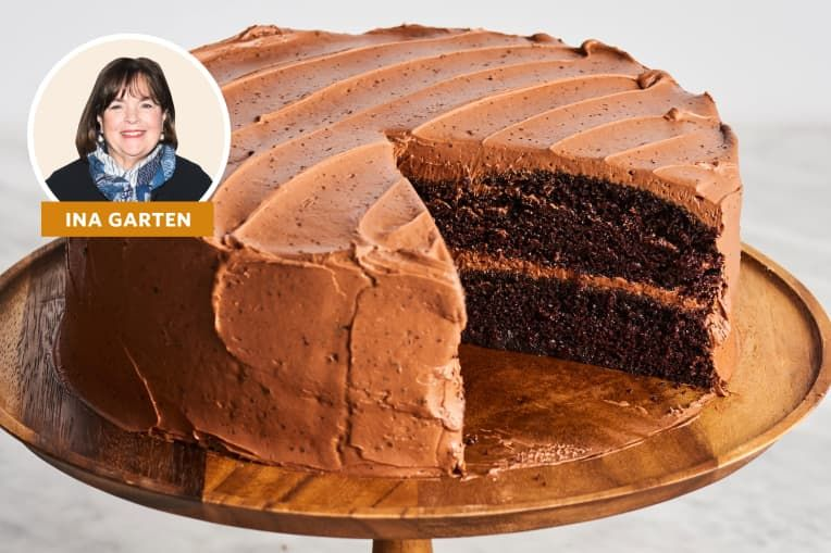 Ina Garten Has A Clever Trick For Making The Best Chocolate Cake Ever In 2020 Ina Garten Chocolate Cake Best Chocolate Cake Best Chocolate