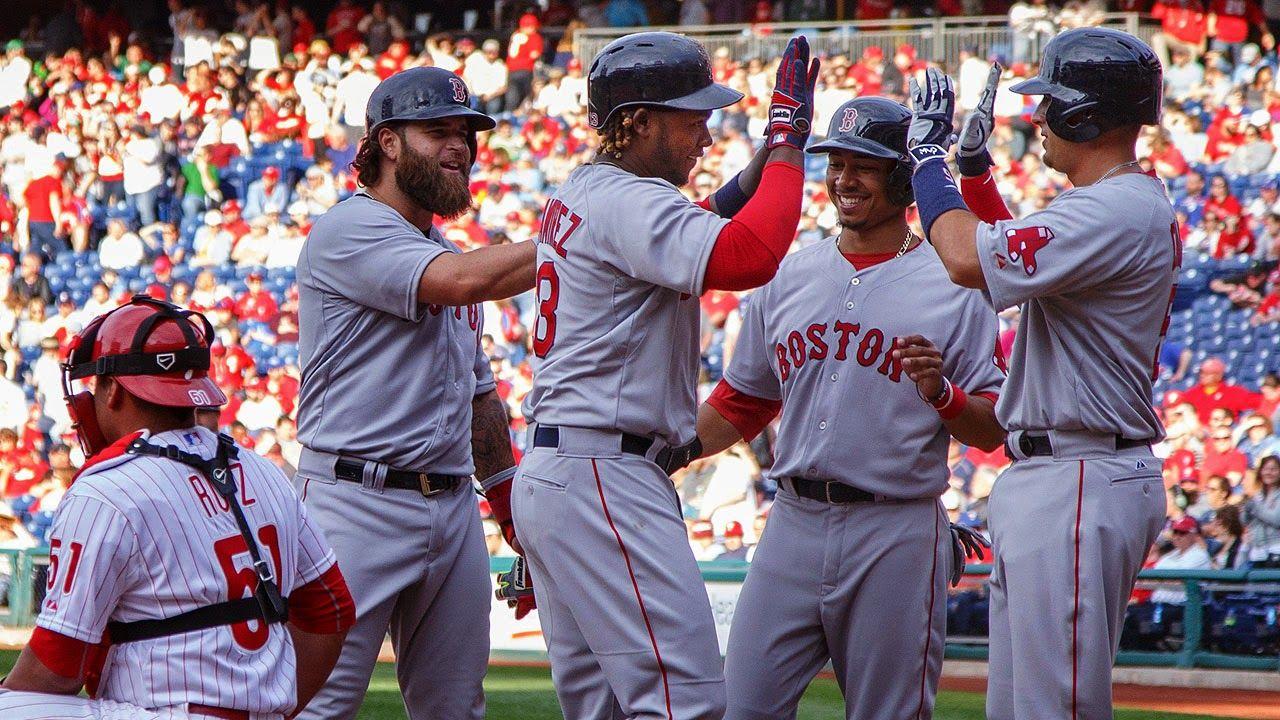 Las Gandes Ligas MLB MEDIAS ROJAS DE BOSTON 2015 Medias