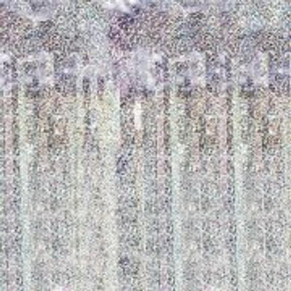 Metallic Foil White Fringe Curtain 3' x 8', 91cm x 2.43m Green, Silver, Black, Blue, White, Metallic #curtainfringe
