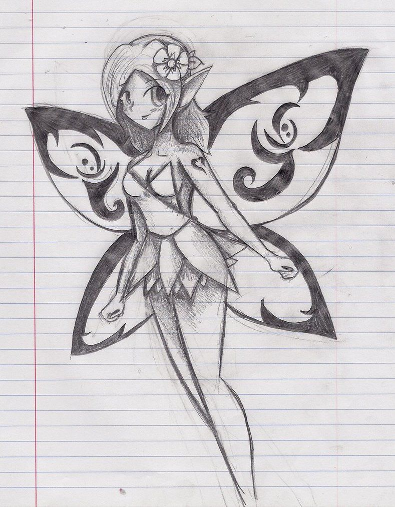 Anime fairy drawing google search anime fairy drawing google search fairy drawings pencil