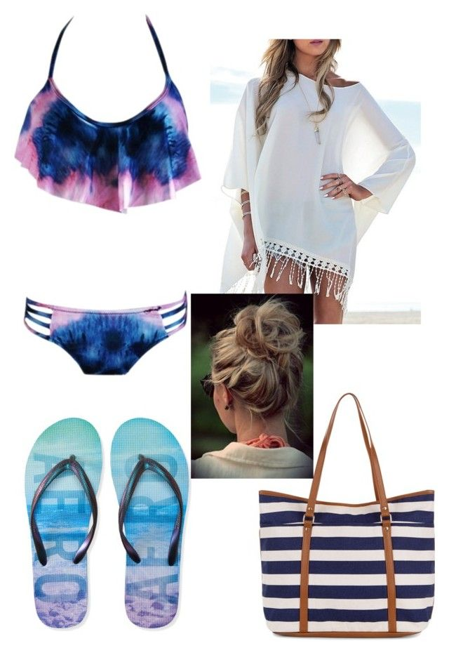 """""""Beach"""" by mae1143 on Polyvore featuring Aéropostale and Accessorize"""