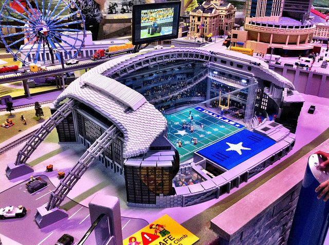 Lego Cowboys  Stadium   Lego Art   Pinterest   Cowboys stadium     Lego Dallas Cowboy Stadium   Flickr   Photo Sharing