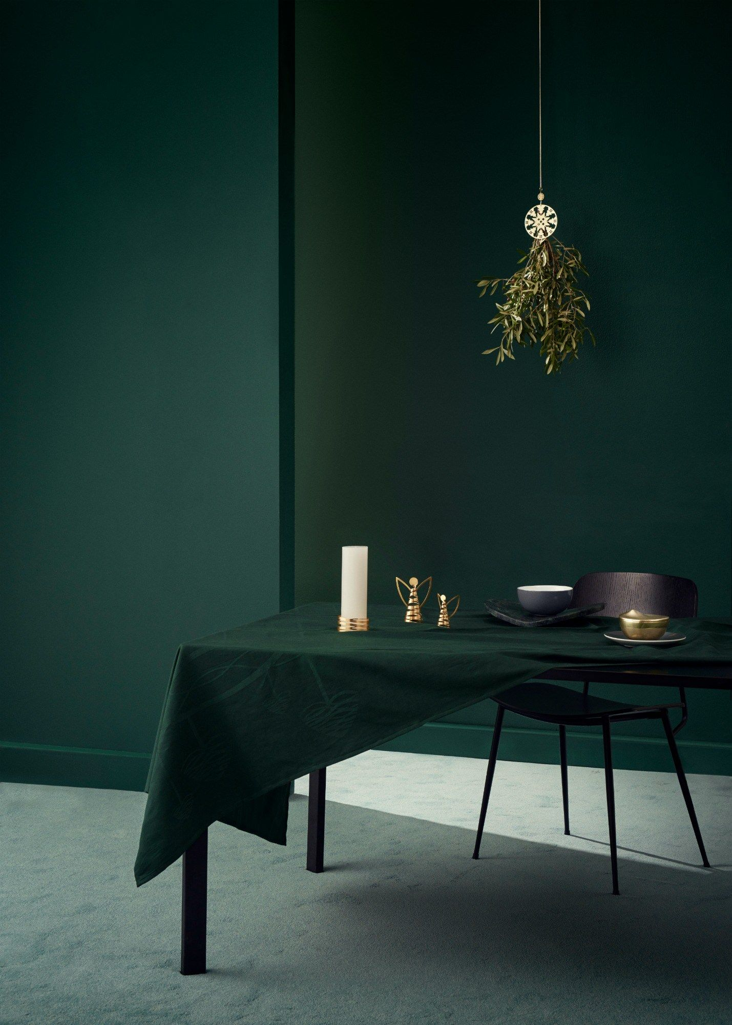 Esszimmer Petrol Modern Christmas Mood With Stelton Mood Color Modern