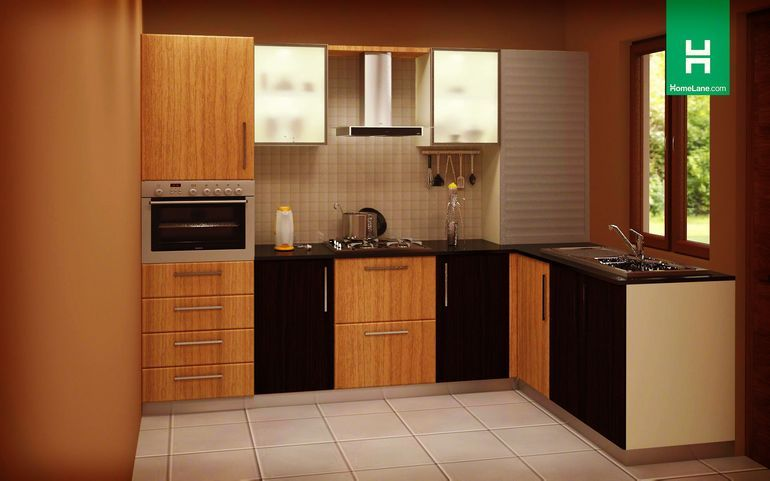 Buy Heron Glorious Lshaped Kitchen Online Best Price  Homelane Brilliant Design Kitchens Online Design Inspiration