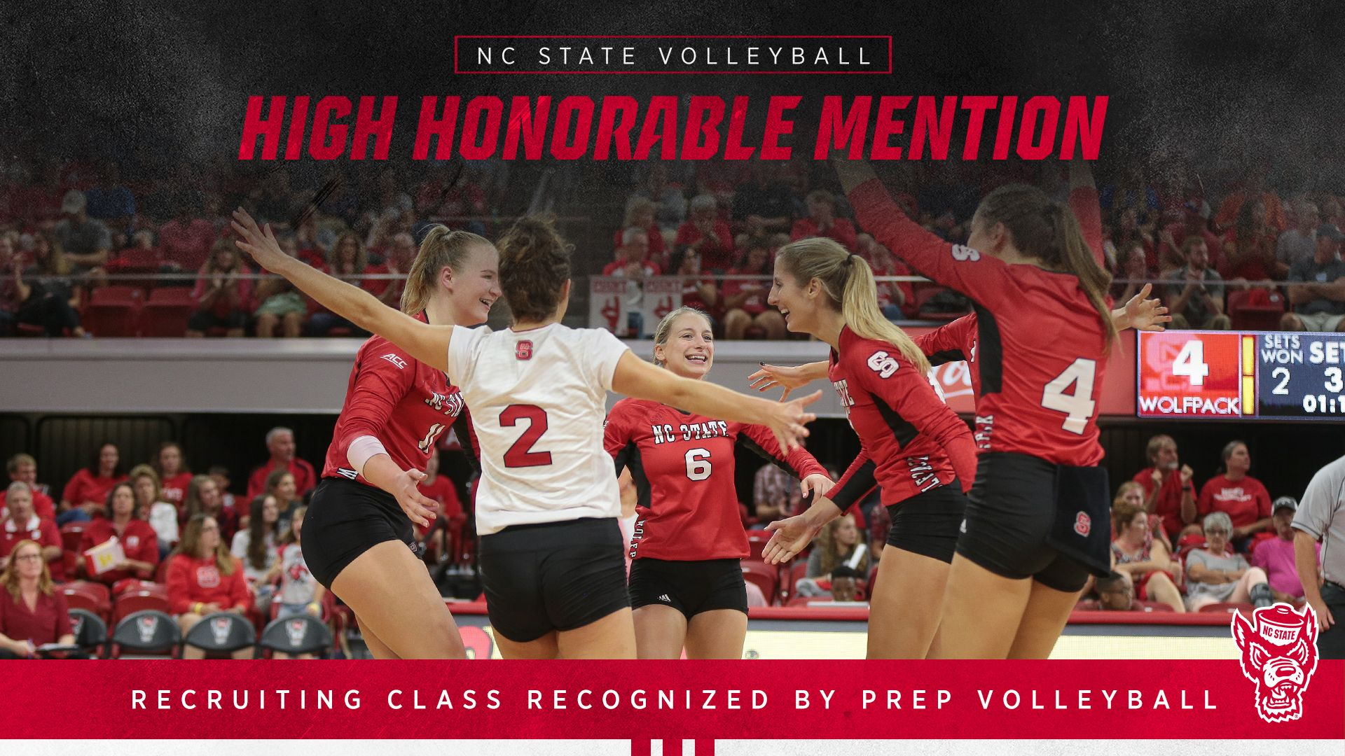 Nc state volleyballs recruiting class recognized by prep