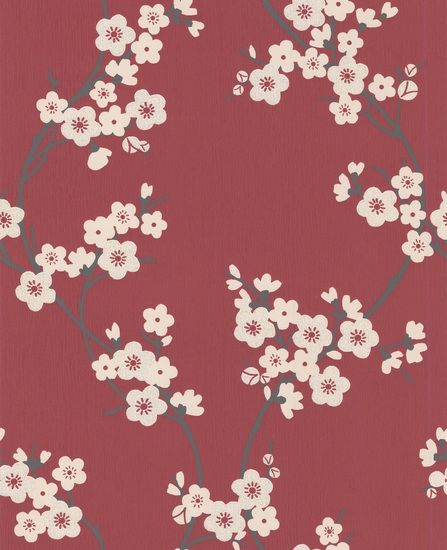 Page Not Found Cherry Blossom Wallpaper Grey Floral Wallpaper Flower Patterns