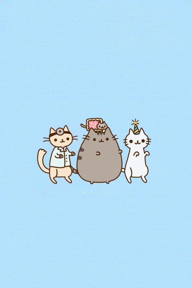 Kawaii Kitten Party Pusheen Doctor Cat Nyan Cat And More
