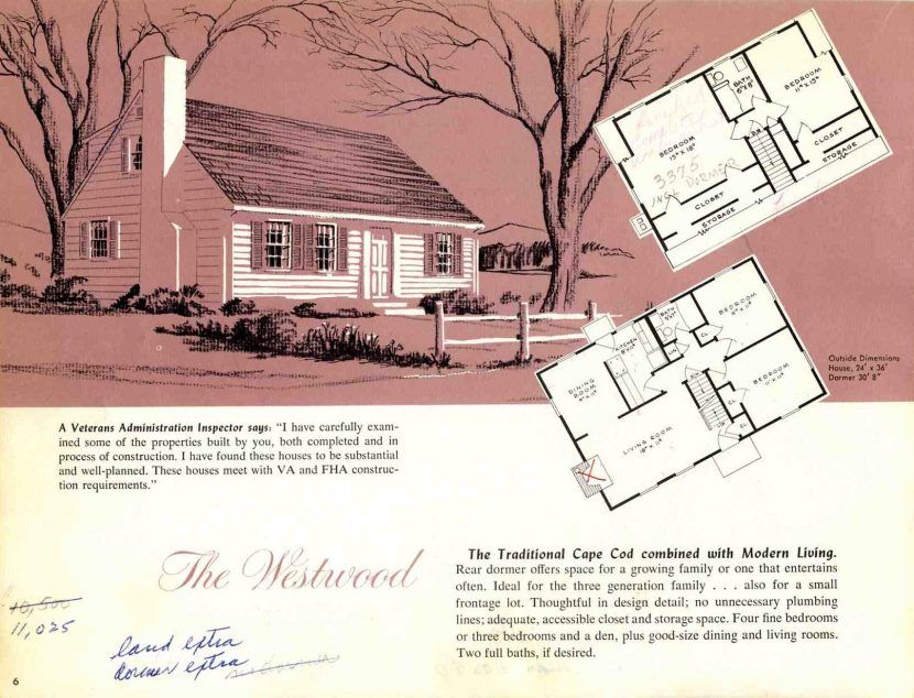 Wondrous Design 1950 Cape Cod Floor Plans 13 Modern Style House Arts Inside 1950s Cape Cod Cape Cod House Plans Cottage Style House Plans Building A Tiny House