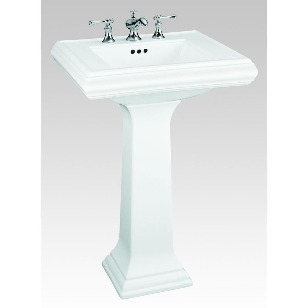 Kohler Memoirs Ceramic Pedestal Combo Bathroom Sink With Classic