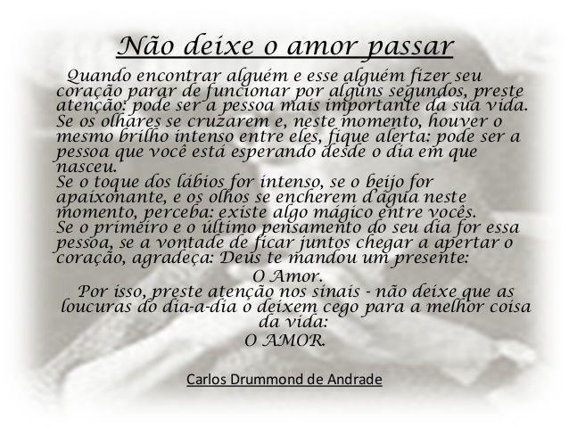 Poemas De Amor Carlos Drummond Andrade Pesquisa Google Poemas