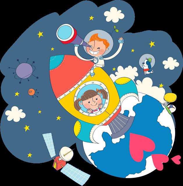 Свадьбы, картинки о космосе для детей