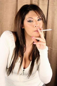 Smoking woman Fetish