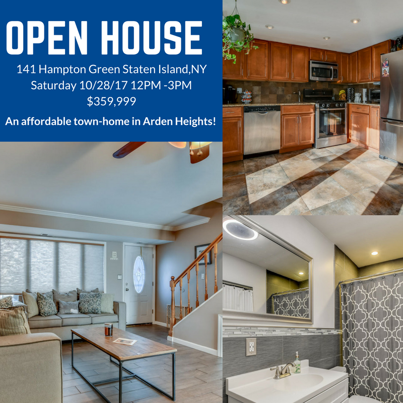Staten Island New York Open House Martino Realty S Open Town House In Arden Heights Home Find Homes For Sale Real Estate