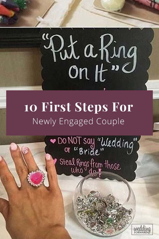 10 First Steps For Newly Engaged Couple | Wedding Forward
