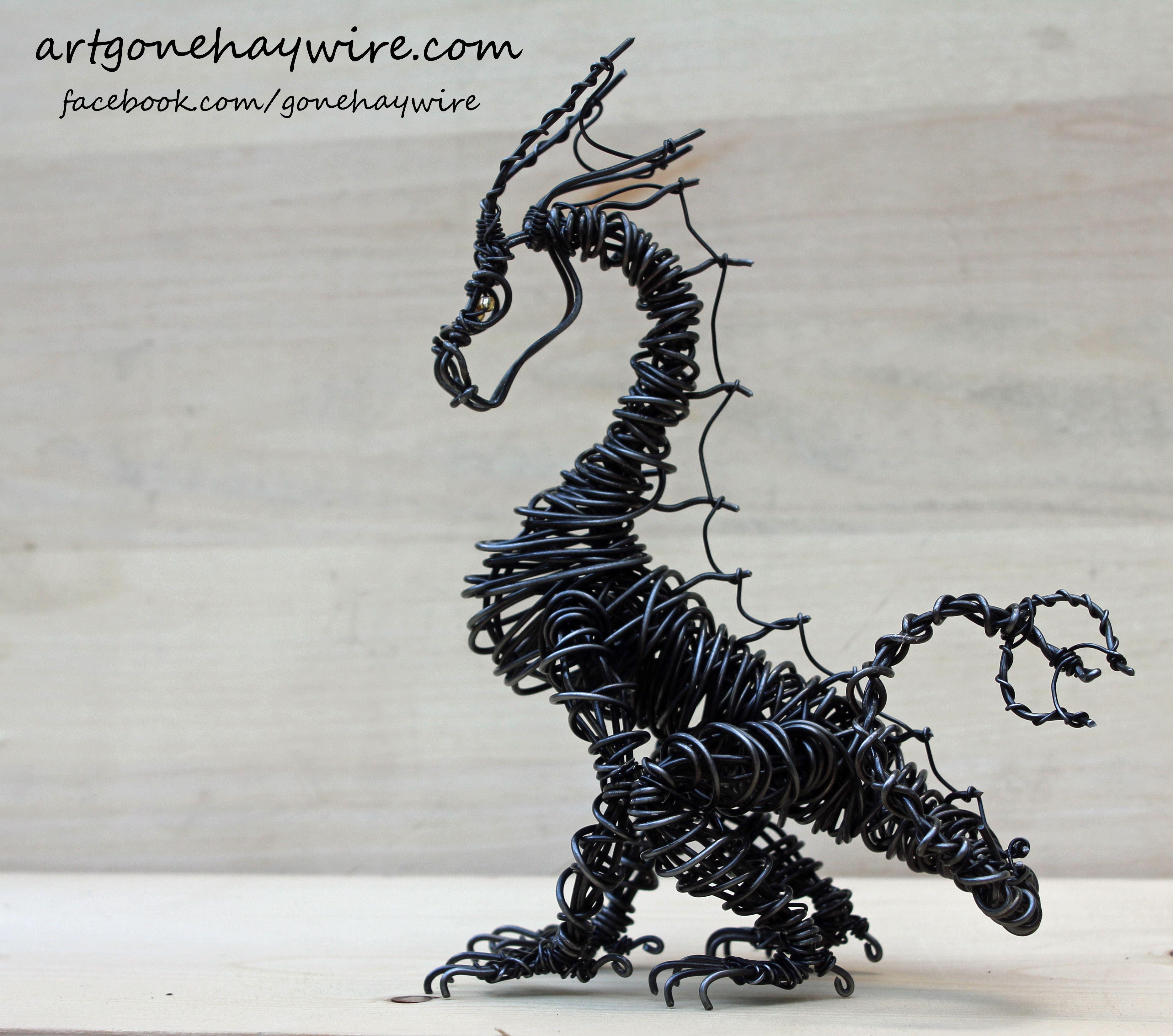 Haywire Dragon Art | Dragons! | Pinterest | Drachen, Drache und Draht
