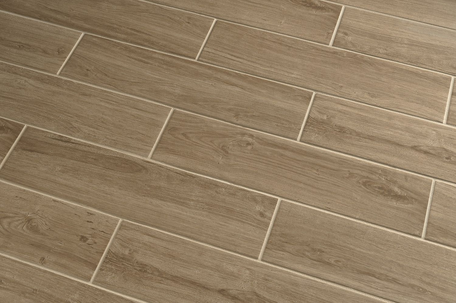 Porcelain Floor Tiles Shop Style Selections Serso Wheat Glazed Porcelain Floor