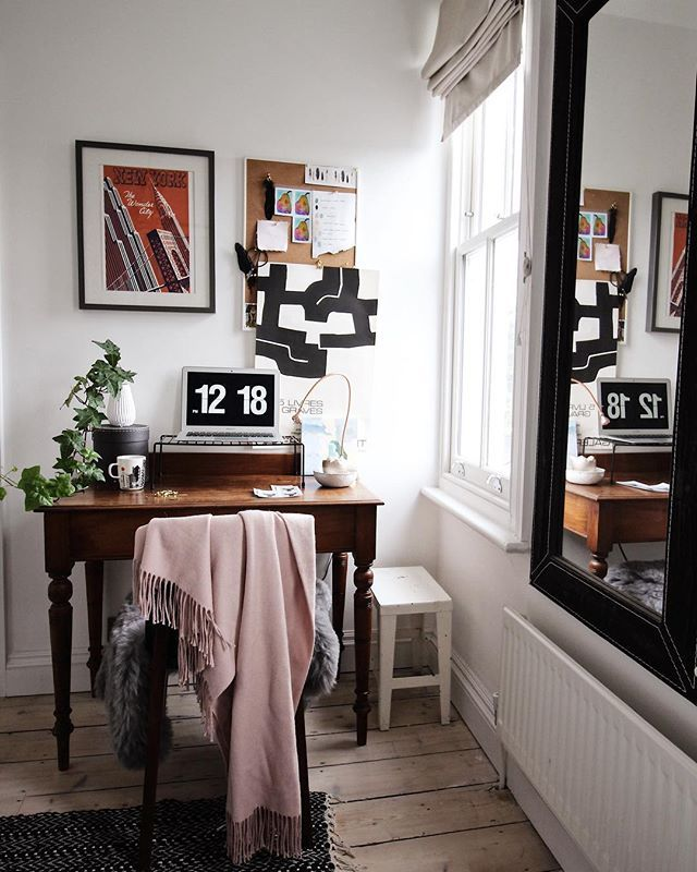 Small Home Office Details | Creating A Home Office With Limited Space | By  SHnordic