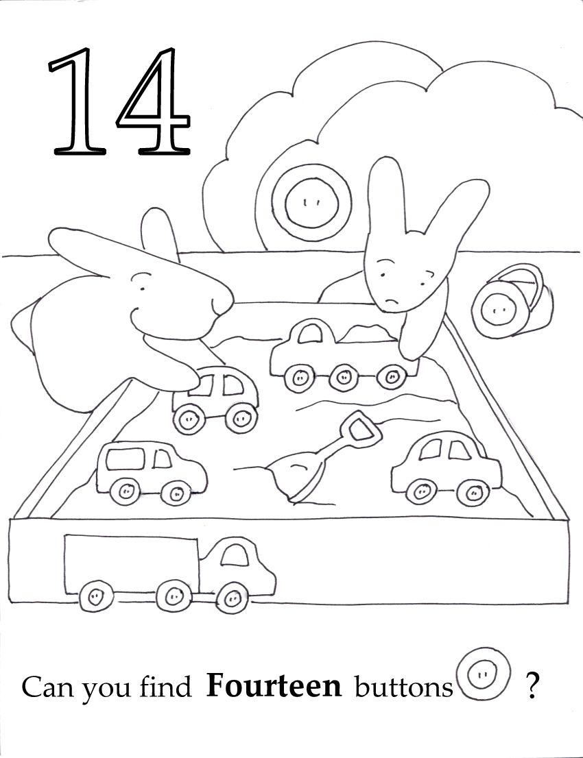 Seek And Finds Numbers Preschool Preschool Worksheets Preschool Activities