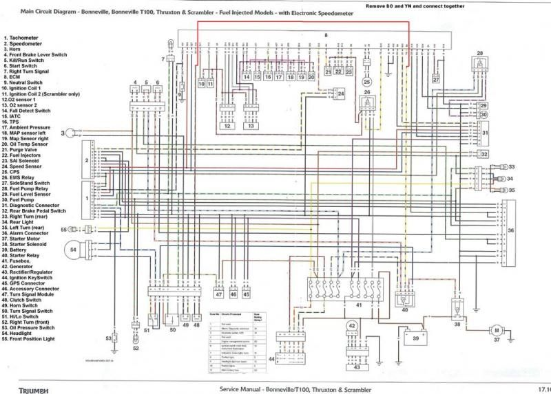 t100 triumph motorcycle wiring diagrams