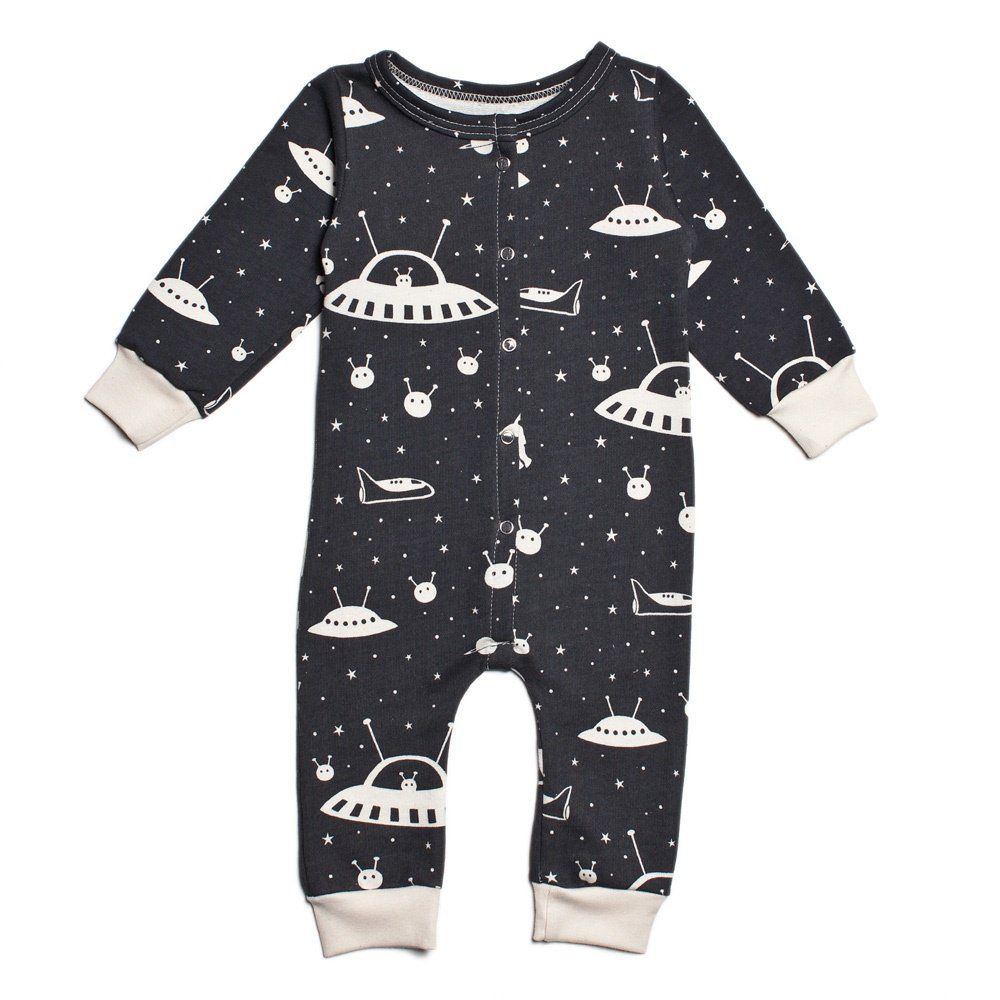 04d323577 Amazon.com: Winter Water Factory Unisex-Baby Organic French Terry Jumpsuit:  Clothing