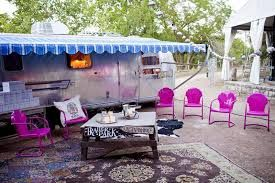 Airstream front porch