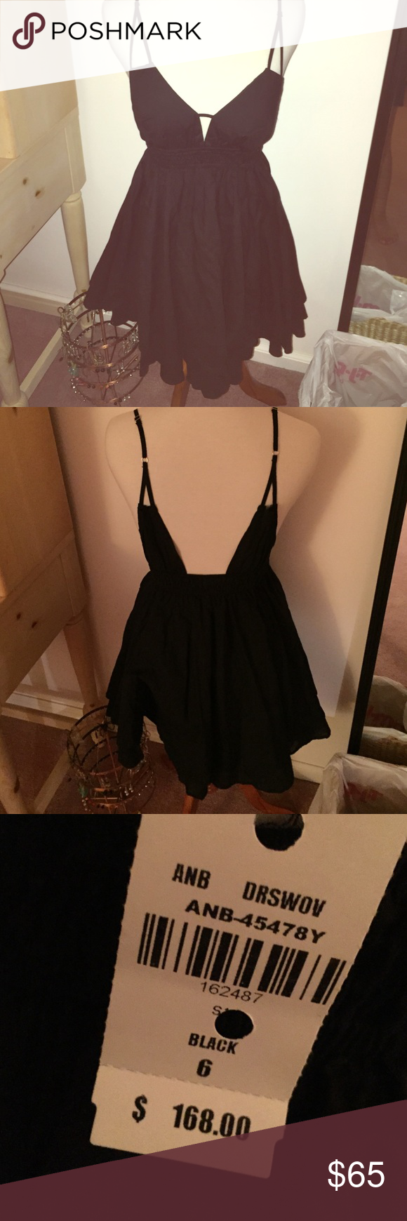 NWT LF Angel Biba Dress NWT size 6 (XS) Angel Biba dress. Never worn. Selling because the style isn't flattering on me. Price negotiable through the offer button only. LF Dresses Mini
