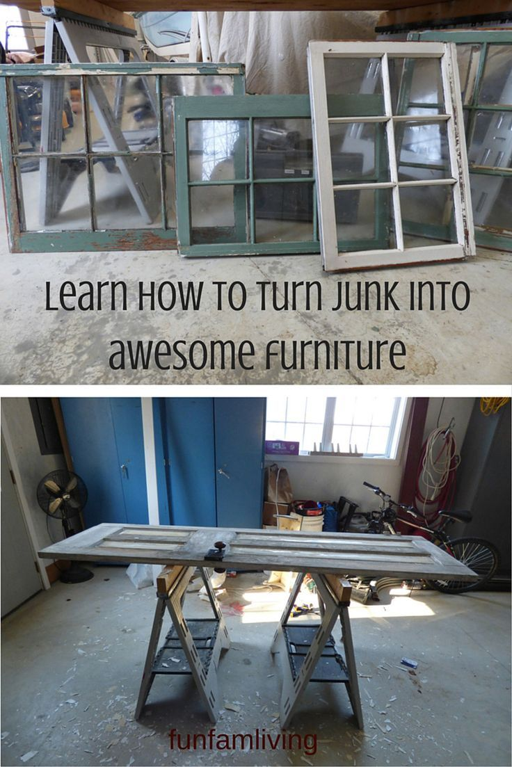 Make Furniture for Next to Nothing http://funfamliving.com