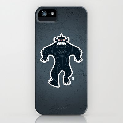 Maybe my next iPhone case purchase! Love it! - Triclops iPhone Case by Luc Latulippe - $35.00