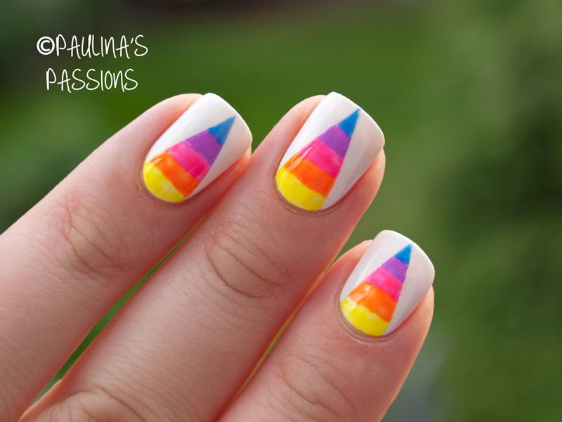 Rainbow Nails | Nails | Pinterest | Stylish girl, Creative nails and ...