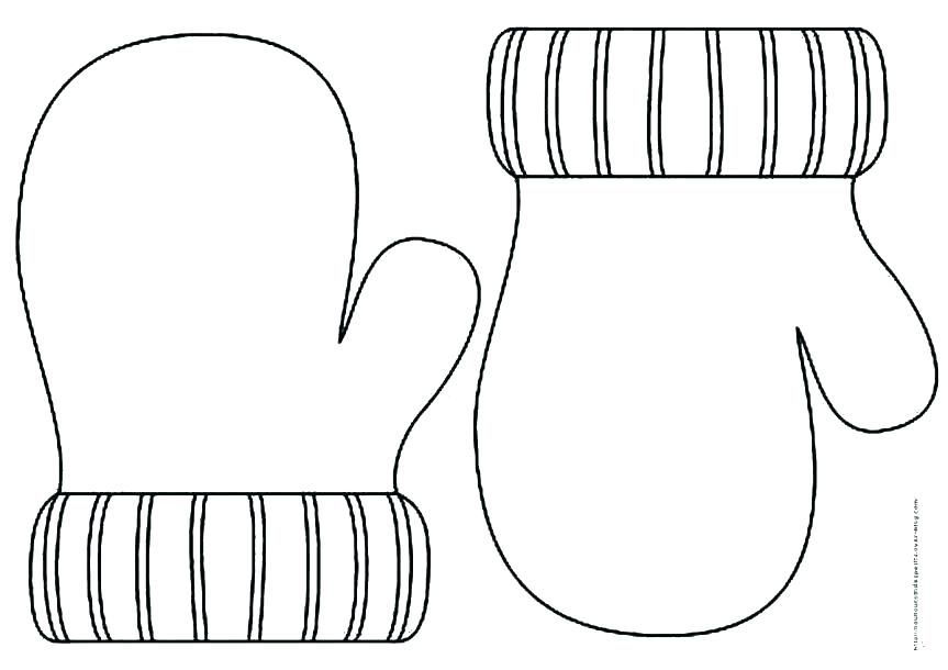 mittens coloring page # 4