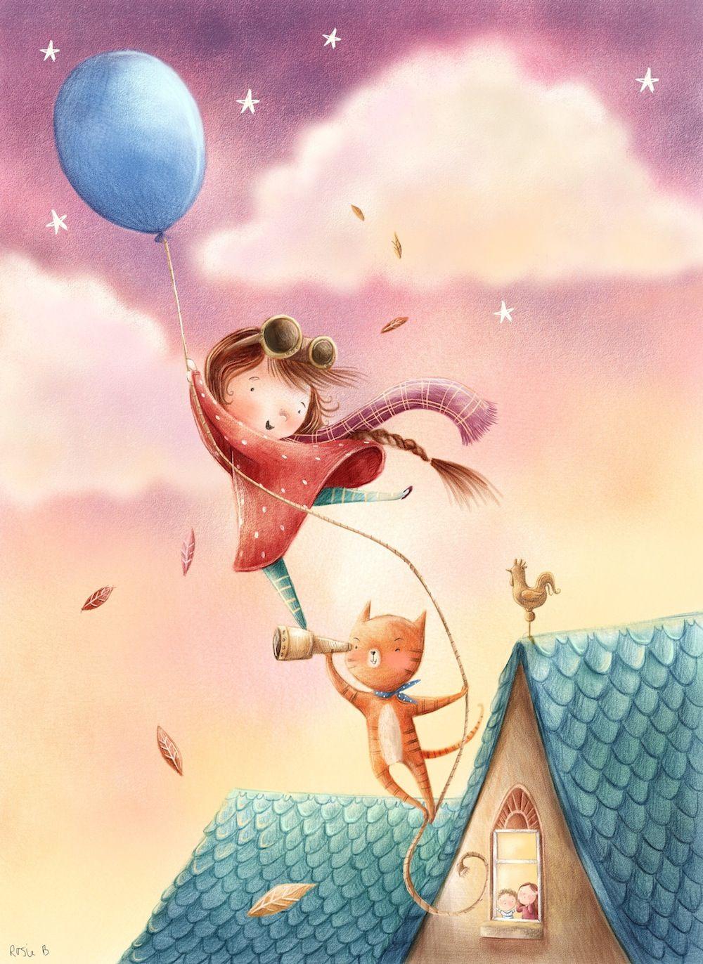 Rosie Butcher Childrens Book Illustration Children'