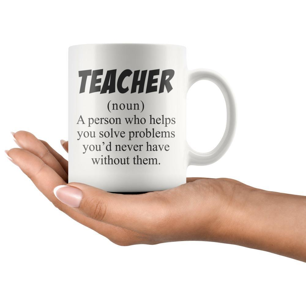 Teacher Definition Funny Teacher Coffee Mug Mugs Coffee Mugs Fathers Day Mugs