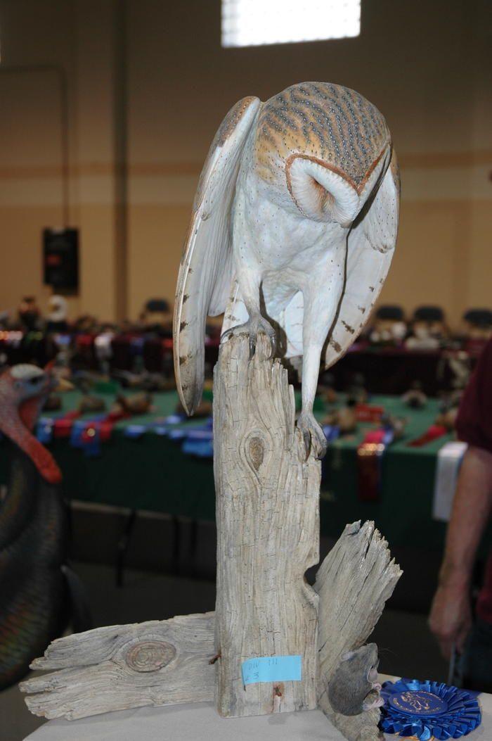 2016 Louisiana Wildfowl Festival Bird Carving Animal Sculptures Wood Sculpture