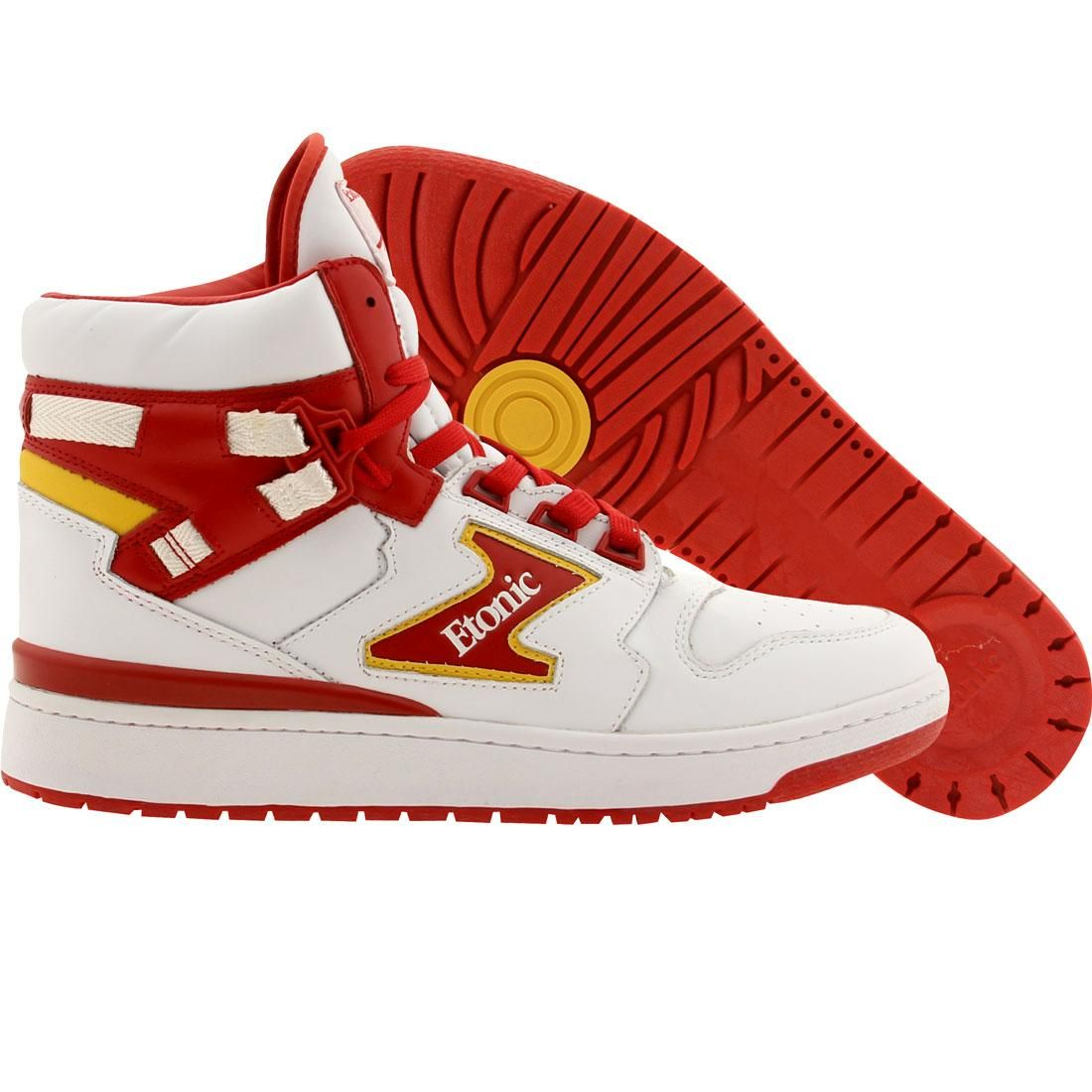 Etonic The Dream 1 - Hakeem Olajuwon (white   red) Shoes EML14F-01 ... 40ab2a4c4228