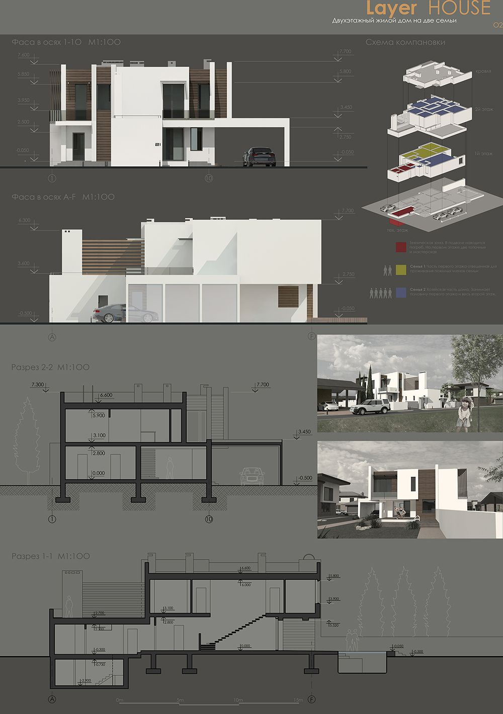 Layer house Apresentao Pinterest Layering House and