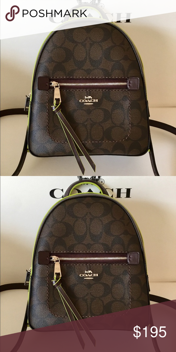 7ebecfbd26c8 🌷Coach Signature Andi Backpack NWT. ✅ The backpack is brand new and  original from