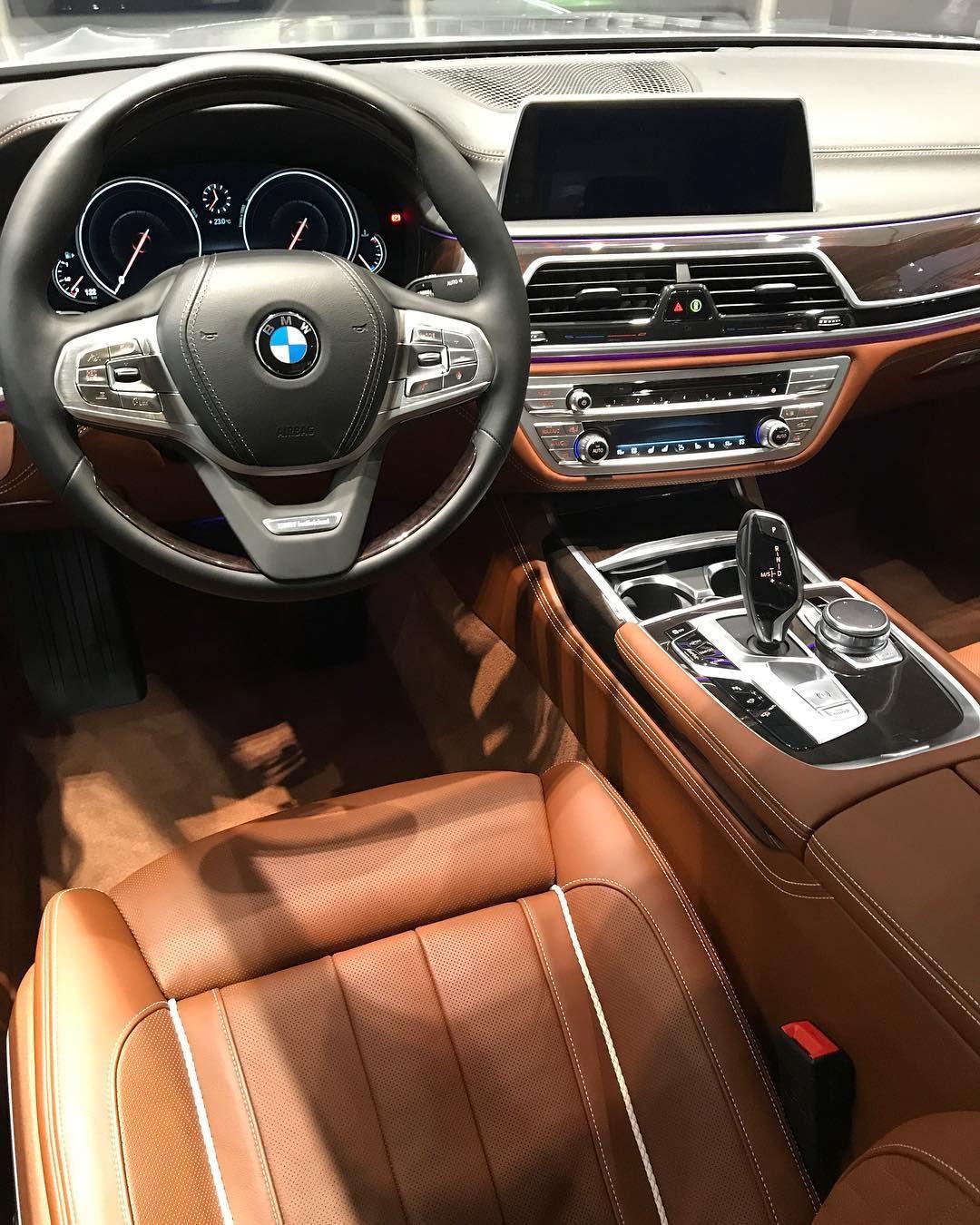 "BMW 730 Li ""Individual"" Tartufo interior @BMW Abu Dhabi"