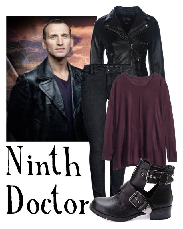 """Ninth Doctor for women"" by companionclothes ❤ liked on Polyvore featuring ONLY, H&M and Charlotte Russe"