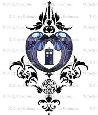 Doctor who tattoo..... would switch out one of the cyberman heads for the silence though
