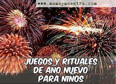 Juegos Y Rituales Para Ano Nuevo Con Ninos Ano Nuevo Pinterest