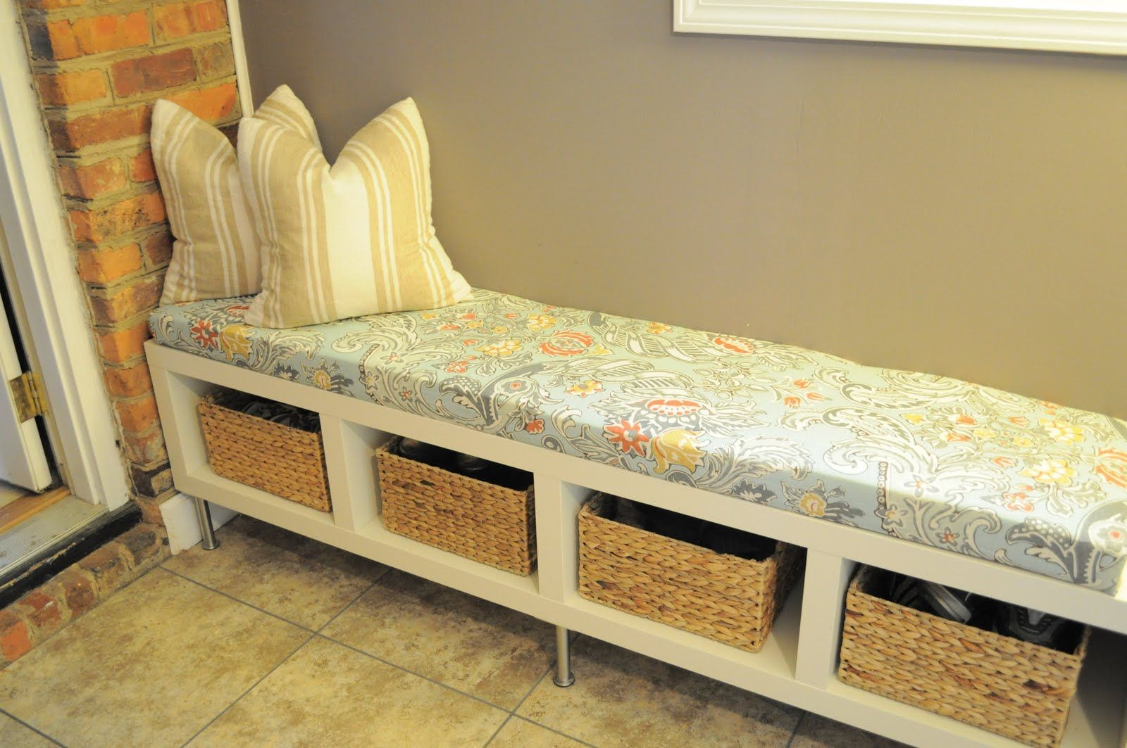 going to do this for my bench in the breakfast nook