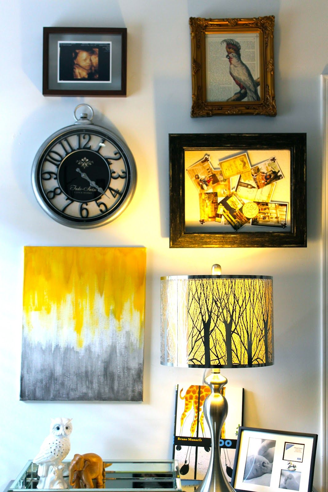 Wall Collage for my son\'s nursery www.LivingmyStyle.com | Nursery ...