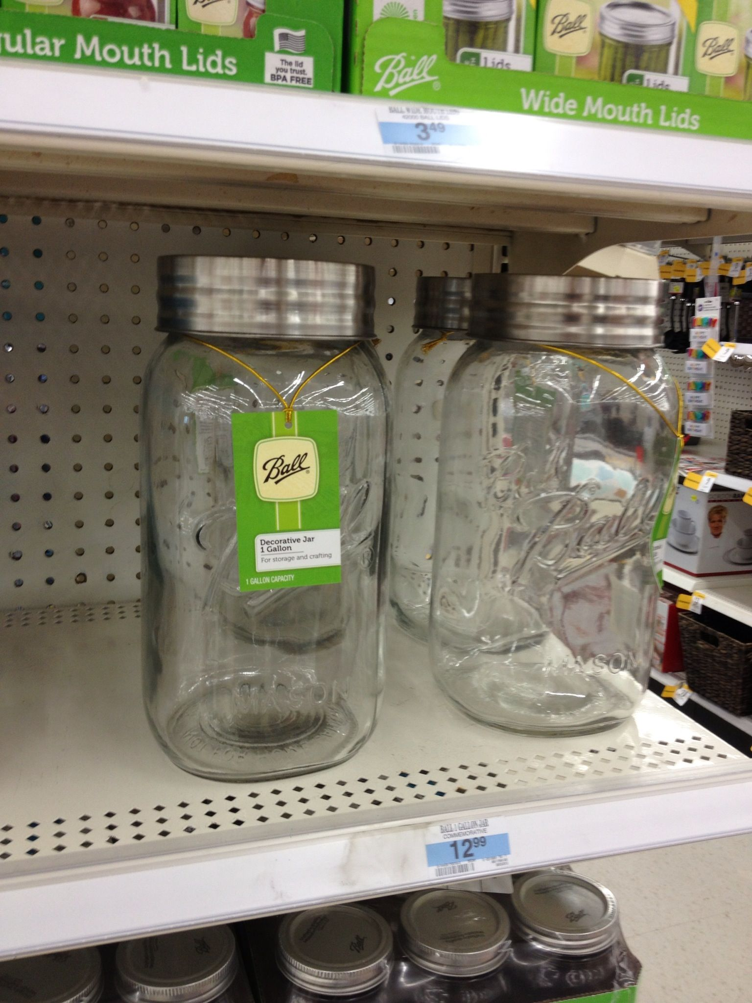 Giant Mason Jar At Kmart Mason Jars Jar Special Friend