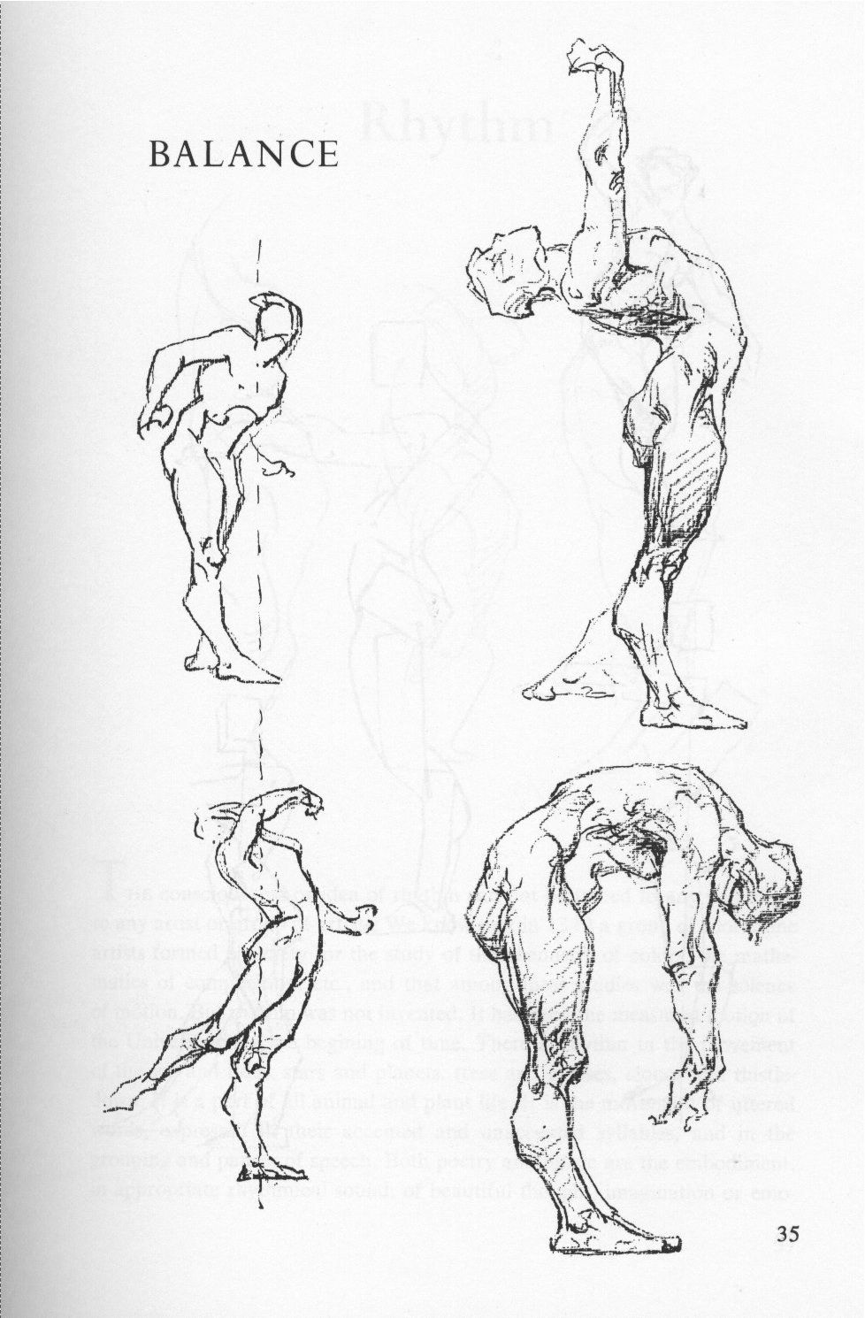 Page From The George Bridgman S Complete Guide To Drawing From Life