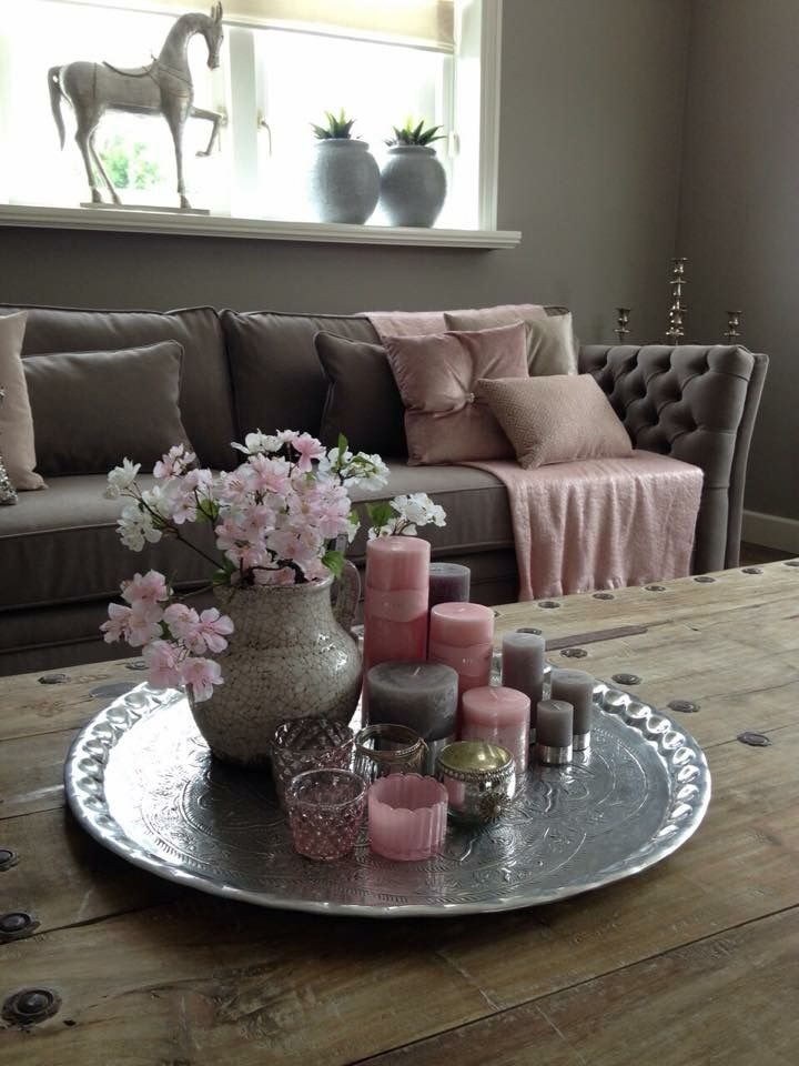 Wohnzimmer Deko New Home Pinterest Velas, Decoración y Centro