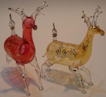 Deer Shape Glass Perfume Bottle