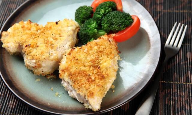 Message, chicken breast boneless panko