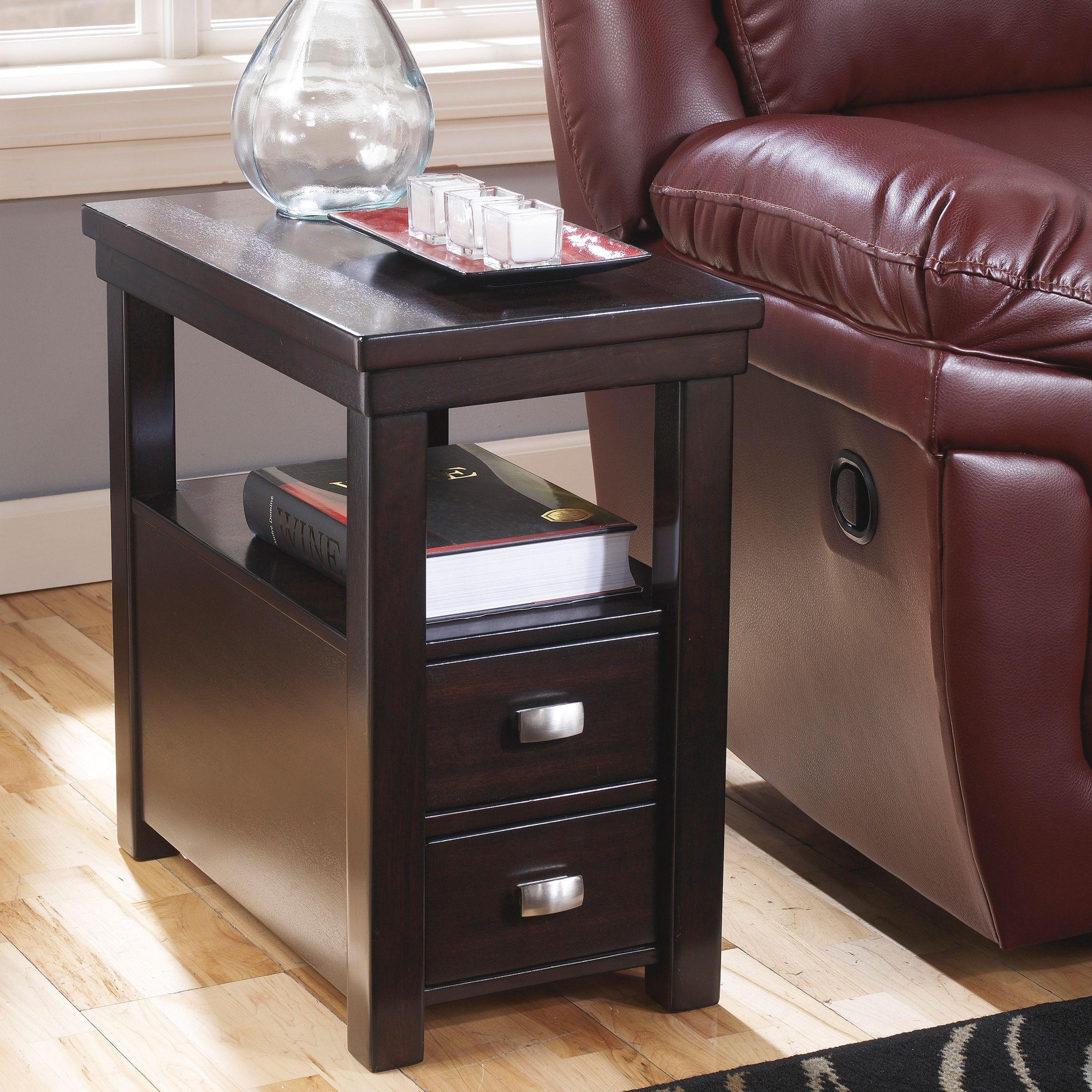 Ashley Furniture Stores Orlando Fl: Signature Designs By Ashley Hatsuko Espresso Chair Side