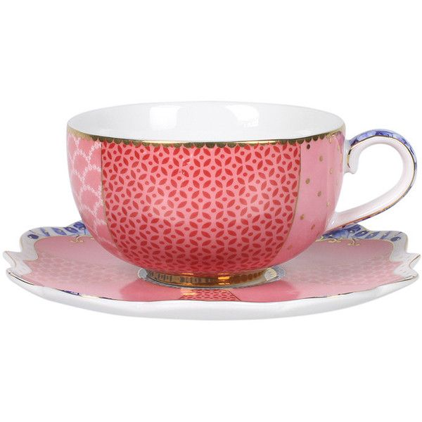 Pip Studio Royal Espresso Cup Saucer 15 Chf Liked On Polyvore