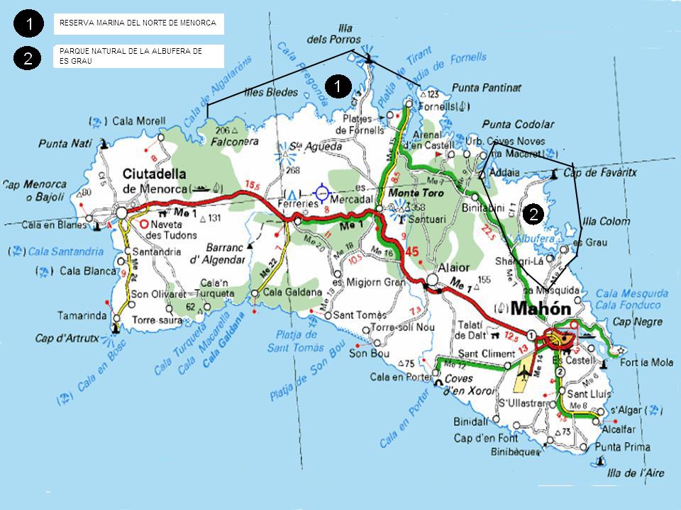 mapa de carreteras menorca Cerca amb Google viajes Pinterest